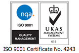 ISO 9001 Certificate No. 4243
