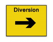 Diversion Right Plate 1050mm x 750mm