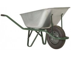 Galvanised Wheelbarrow