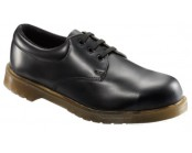 Black Cushion Sole Safety Shoe
