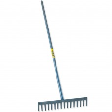 Asphalt Rake All Steel Handle