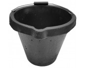 Black Rubber Bucket