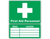 First Aid Personnel