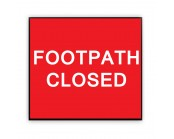 Footpath Closed Plate 600mm x 450mm
