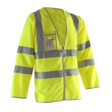 Pulsar P201 High Visibility Long Sleeved Waistcoat