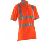Pulsarail PR176 High Visibility Short Sleeve Polo Shirt