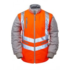 Pulsarail PR498 High Visibility Sleeved Body Warmer