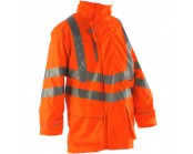 Pulsarail PR499 High Visibility Unlined Storm Coat