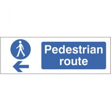 Pedestrian Route Left