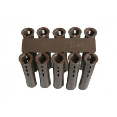 Brown Expansion Wall Plugs