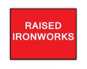 Raised Ironworks Plate 1050mm x 750mm