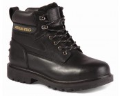 Black Construction Boot