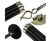 Universal Drain Rod Set (Bag)