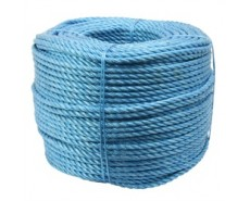8mm x 220m Blue Polypropylene Rope