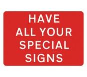 Bespoke Road Sign Plates