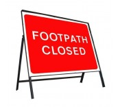 600mm x 450mm Temporary Road Signs