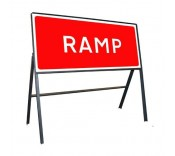1050mm x 450mm Temporary Road Signs