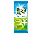 Flash Anti-Bacterial Cleaning Wipes (Pack 60)