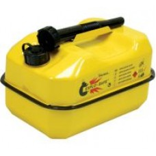 Yellow Explosafe Petrol Can 10 Litre