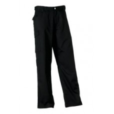 Russell Polycotton Trouser 001M Black
