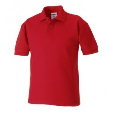 Russell Classic Polo Shirt Red
