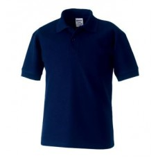 Russell Classic Polo Shirt French Navy