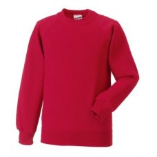 Russell Classic Sweatshirt Red