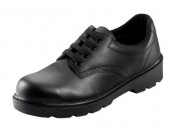Black Contractor Safety Shoe