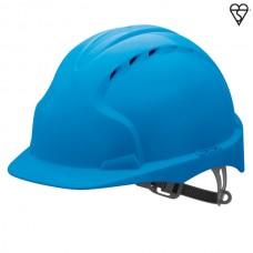 JSP EVO3 Vented Helmet Blue