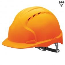 JSP EVO2 Vented Helmet Orange