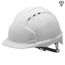 JSP EVO3 Vented Helmet White
