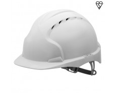 White EVO3 Safety Helmet
