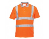 Orange High Visibility Polo Shirt