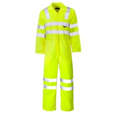 Flame Retardant High Visibility Anti Static Coverall