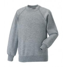 Russell Classic Sweatshirt Light Oxford
