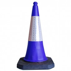 750mm Road Cone Blue