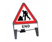 Men at Work c/w End Q Sign 750mm