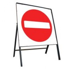 750mm No Entry Sign