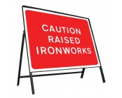 Raised Ironworks Sign
