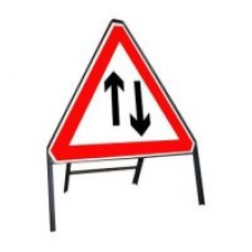 750mm Two Way Traffic Sign