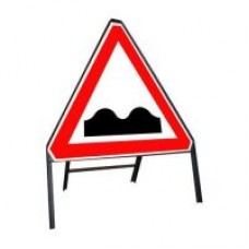 750mm Uneven Road Ahead Sign