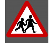 Thermoplastic School Crossing Symbol