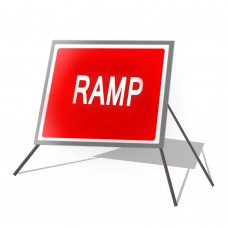 Ramp Roll Up Sign