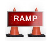 Ramp Cone Sign