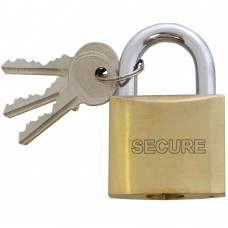 Keyed Alike Brass Padlock 50mm