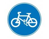 Cyclist Pathway Symbol