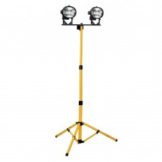 Twin Halogen Tripod Site Light 110v