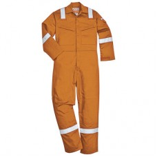 Orange Flame Retardant Coverall Anti-Static