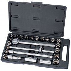 "Socket Set 1/2"" Drive 25 piece"