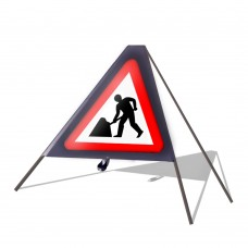 Roadworks Ahead Roll Up Sign